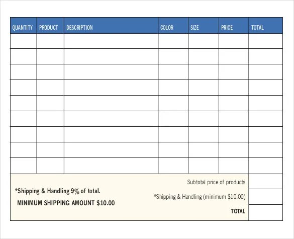 26+ Sales Order Templates \u2013 Free Sample, Example, Format Download