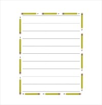 14+ Word Lined paper Templates | Free & Premium Templates