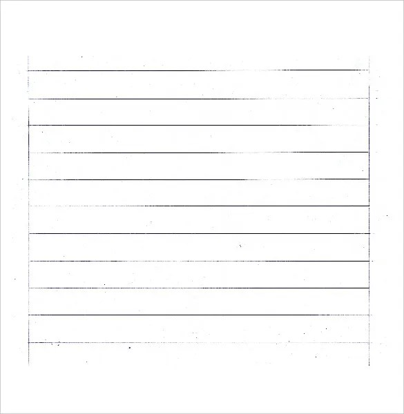 14+ Word Lined paper Templates Free  Premium Templates