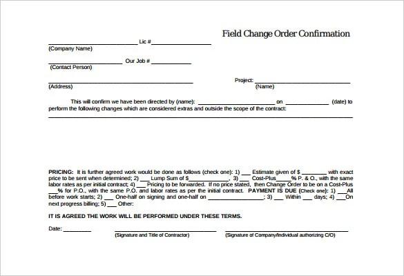 30+ Order Confirmation Templates - PDF, DOC Free  Premium Templates