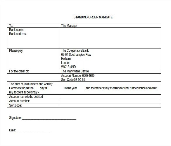 28+ Blank Order Templates \u2013 Free Sample, Example, Format Download - blank order form template