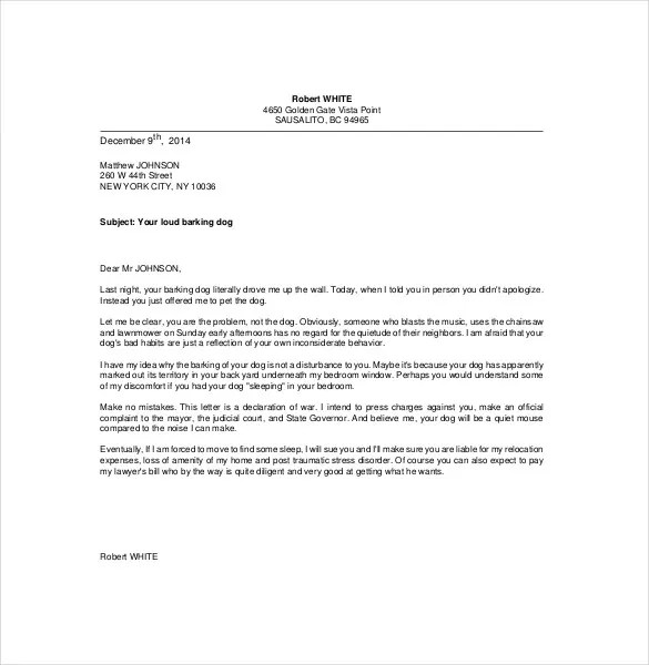 10+ Funny Complaint Letter Templates \u2013 Free Sample, Example, Format - complaint letters template