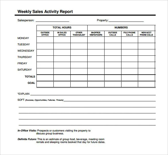 sales daily report format - Selol-ink