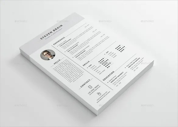 Emejing Professional Resume Template Free Download Images - New - professional resume template free