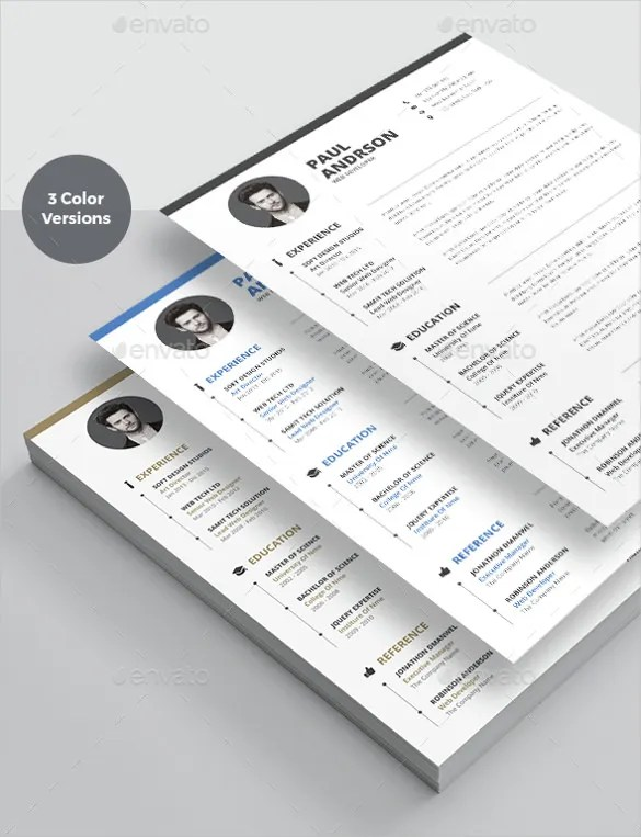 25+ Word Professional Resume Template - Free Download Free