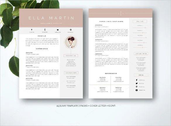 best free resume templates 2018 word