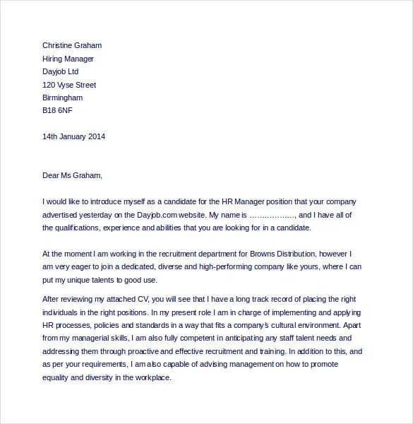 15+ HR Complaint Letter Templates \u2013 Free Sample, Example, Format