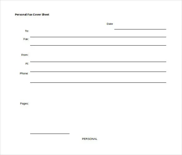 12+ Word Fax Cover Sheet Templates Free Download Free  Premium