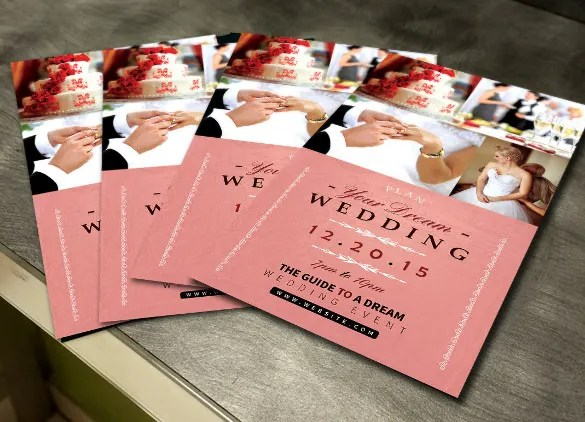 wedding flyers - Onwebioinnovate - wedding flyer