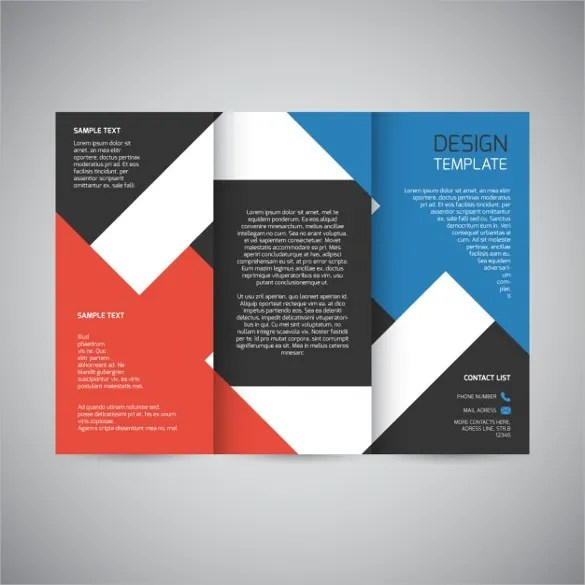 create tri fold brochure - Selol-ink