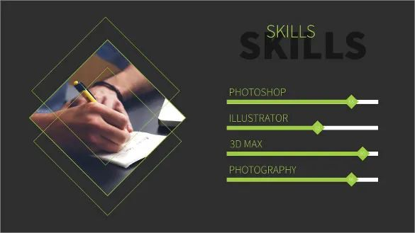 cv template free download powerpoint