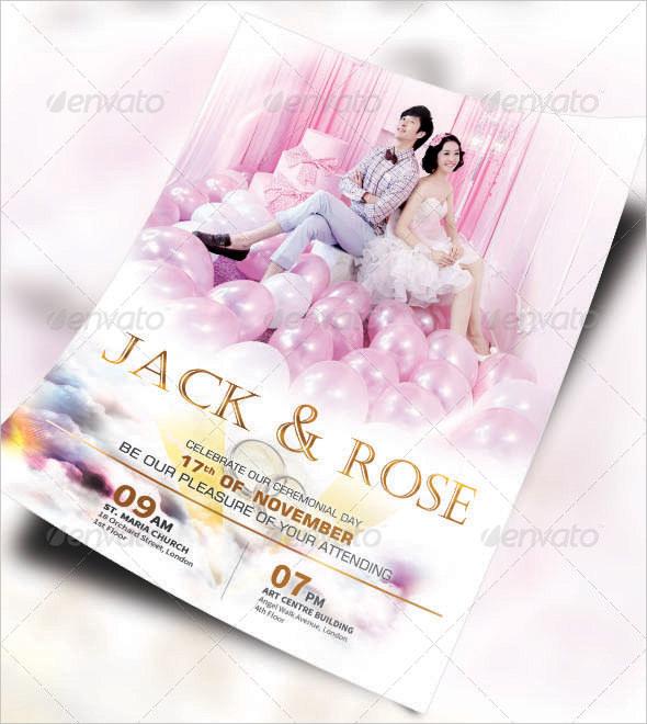 25+ Wedding Flyer Templates \u2013 Free Sample, Example, Format Download - wedding flyer
