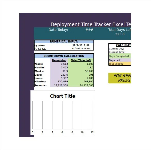 12+ Time Tracking Sample Templates - Free Word, Excel, PDF Documents