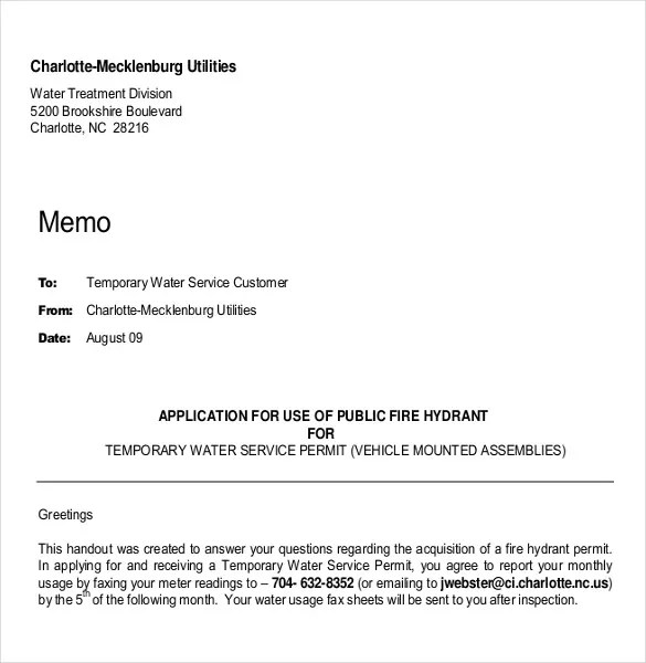 Professional Memo Template \u2013 15+ Free Word, PDF Documents Download
