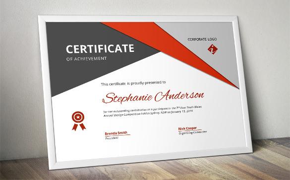 27+ Word Certificate Templates Free Download Free \ Premium - certificate design format
