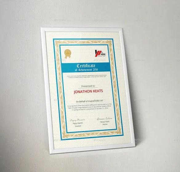 36+ Word Certificate Templates Free  Premium Templates