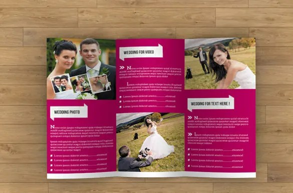 26+ Wedding Brochure Templates \u2013 Free Sample, Example, Format - sample broucher