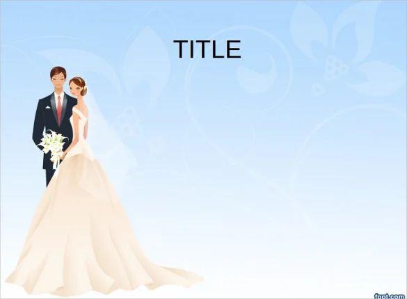 wedding slideshow template powerpoint
