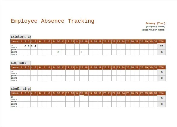 attendance point system excel - Holaklonec - attendance tracking system in excel