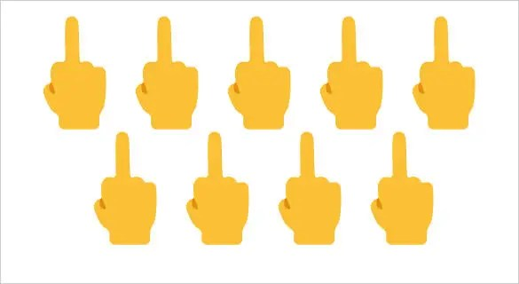 12+ Bad is the New good, Be a Little Vulgar with Middle Finger