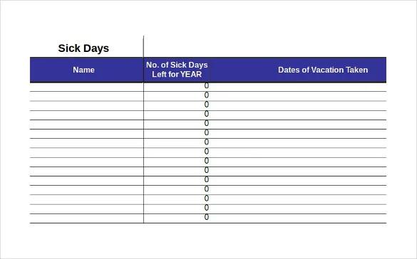10+ Employee Tracking Templates \u2013 Free Sample, Example Format
