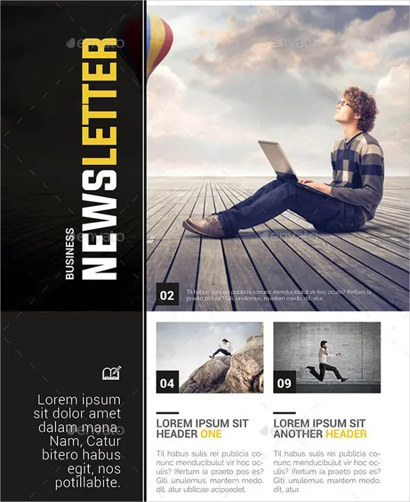 20+ Word Newsletter Templates Free Download Free  Premium Templates