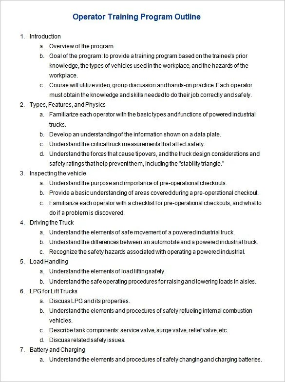 21+ Outline Templates - PDF, DOC Free  Premium Templates