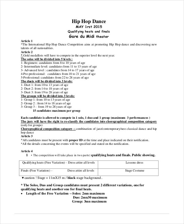 Dance Certificate Template - 6+ Free Word, Excel, PDF Documents - acknowledgement certificate templates