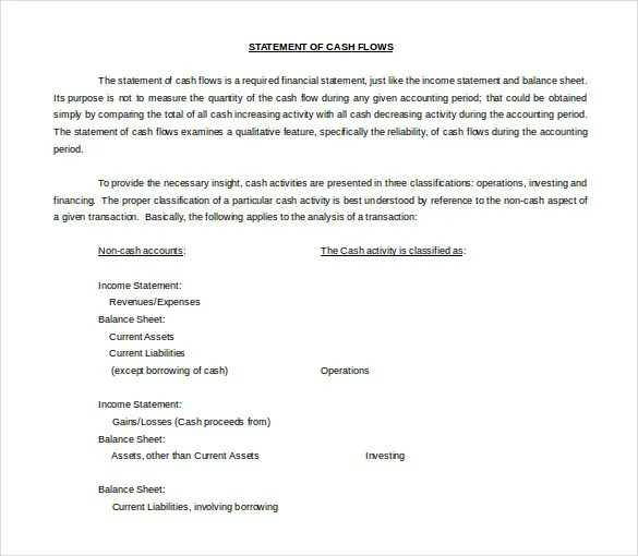 11+ Word 2010 Statement Template Free Download Free  Premium