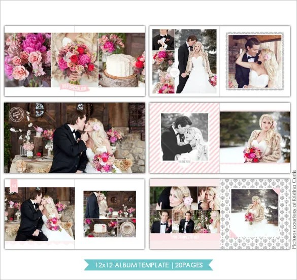25+ Wedding Album Templates \u2013 Free Sample, Example, Format Download