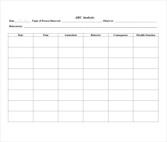 10+ Behavior Tracking Templates \u2013 Free Sample, Example Format - tracking sheet template