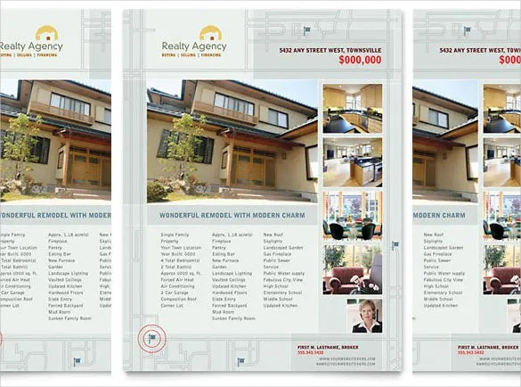 33+ Free Download Real Estate Flyer Template in Microsoft Word