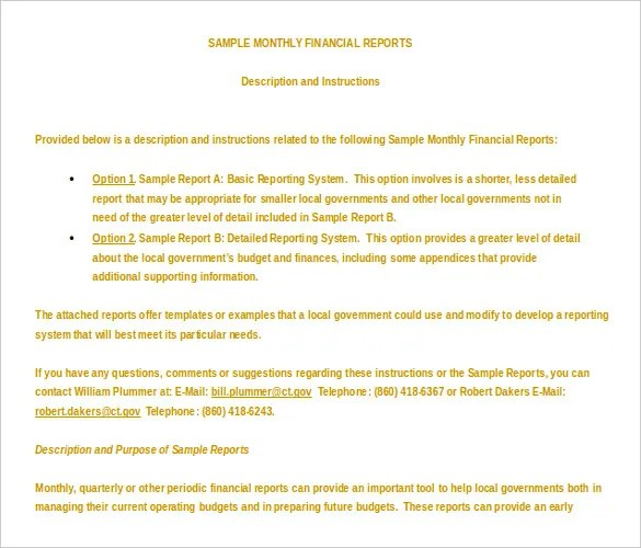 13+ Microsoft Word 2010 Report Templates Free Download Free