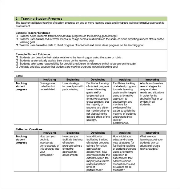 11+ Progress Tracking Templates u2013 Free Sample, Example Format - sample goal tracking