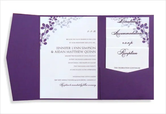 26+ Free Printable Invitation Templates MS Word Download Free