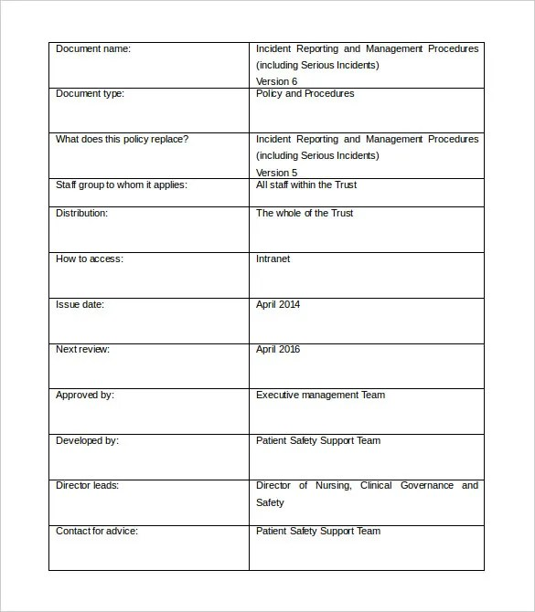 Monthly Report Template Word – Monthly Report Format