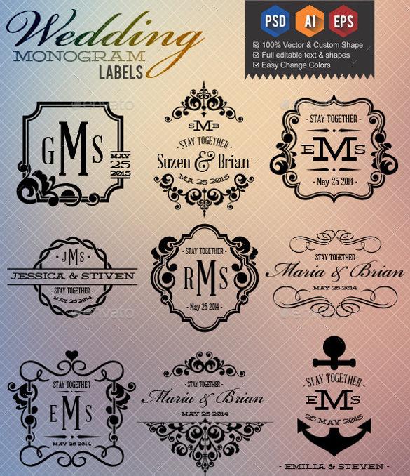 wedding label designs - Towerssconstruction