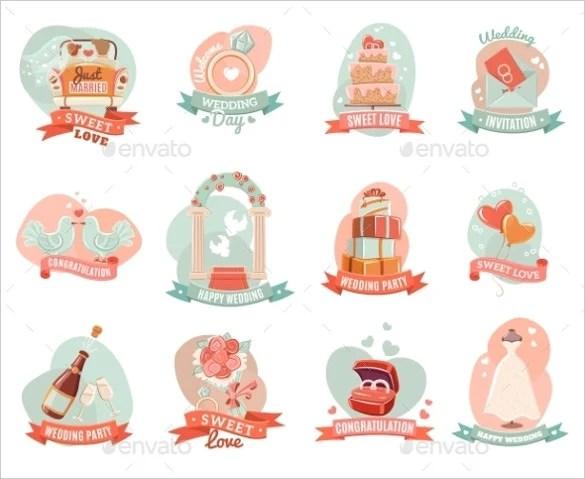 21+ Wedding Sticker Templates \u2013 Free Sample, Example, Format - free sticker template