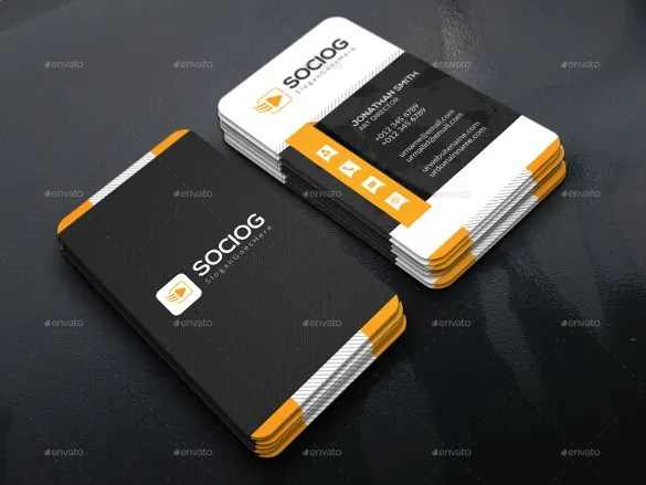 40+ Business Card Templates - Pages, PSD, AI Free  Premium Templates