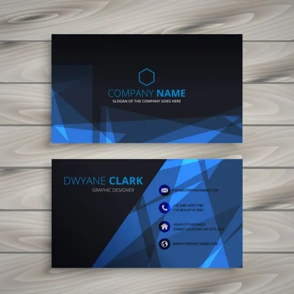 Business Card Design - 35+ Free PSD, AI, Vector EPS Format Download