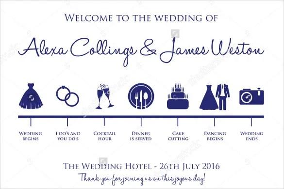 30+ Wedding Timeline Templates - PSD, AI, EPS, PDF, Word, Excel