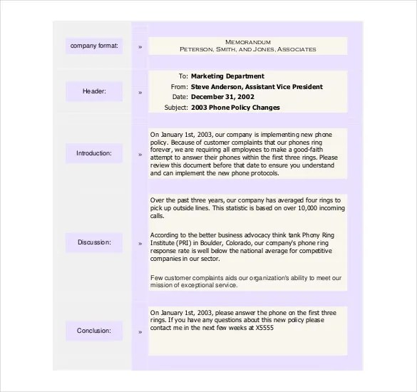 sample policy memo - Minimfagency - policy memo template