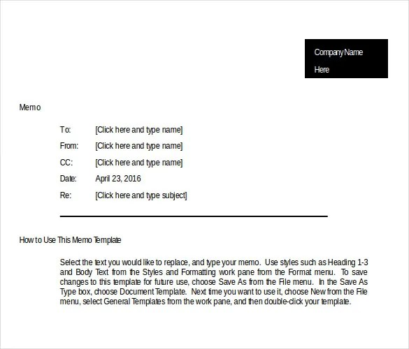 21+ Business Memo Templates \u2013 PDF, DOC Free  Premium Templates - Sample Business Memo