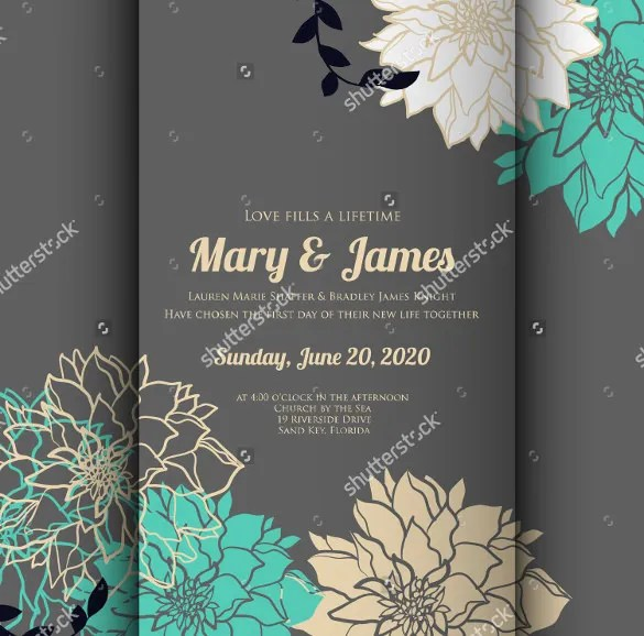 59+ Wedding Card Templates - PSD, AI Free  Premium Templates