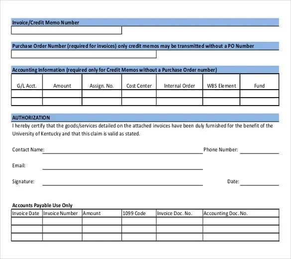 12+ Credit Memo Templates \u2013 Free Sample, Example, Format Download