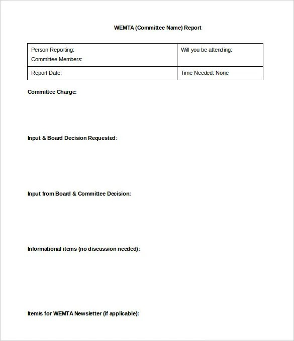 sample report template - Alannoscrapleftbehind - formal reports samples