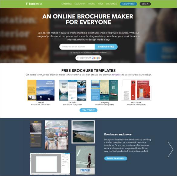 make a free brochure 3slufsluidsprekers