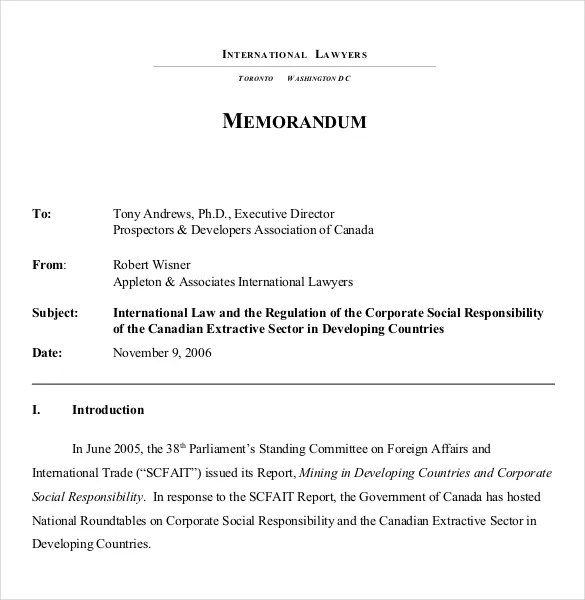 ... Formal Memorandum Template Free Pdf Memo Format Template Download    Interoffice Memo Sample Format ...