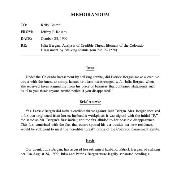 sample memorandum of law - Onwebioinnovate
