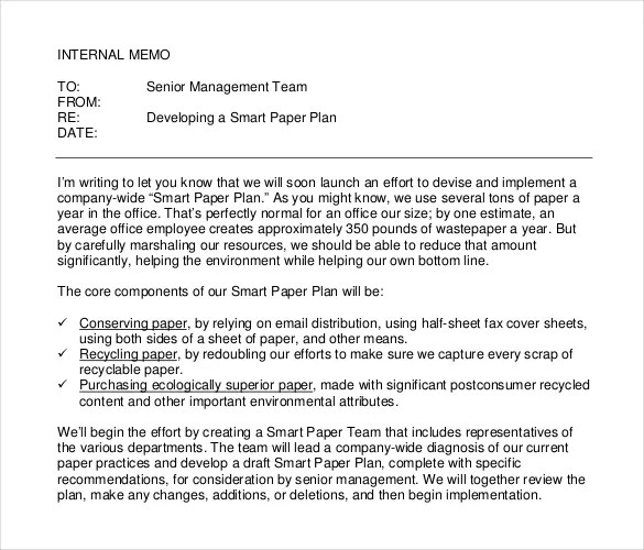 16+ Internal Memo Templates - PDF, DOC Free  Premium Templates - sample internal memo template